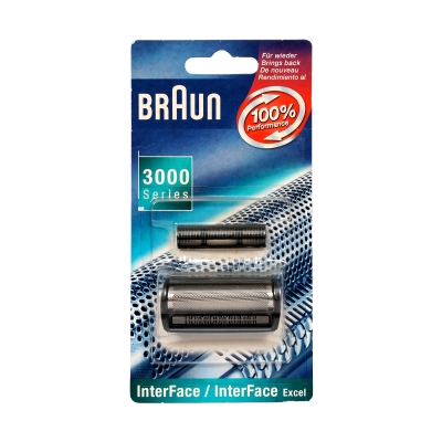 Braun Shaver Foil and Cutter 3000