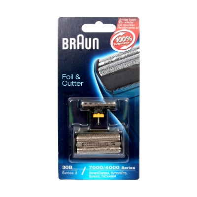 Braun Shaver Foil and Cutter 30B