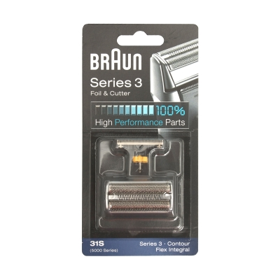 Braun Shaver Foil And Cutter 31s