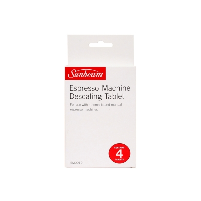Sunbeam Espresso Machine Descale Tablets 4pk
