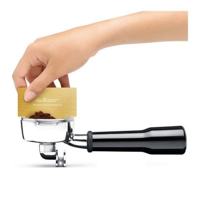 breville espresso machine razor trimming tool bes870