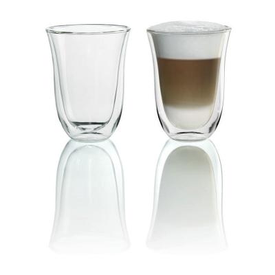 Delonghi Espresso Machine Latte Macchiato Glasses 2pk