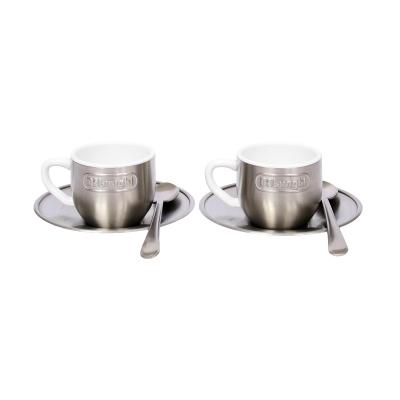 Delonghi Espresso Machine Espresso Metal Cups 2pk
