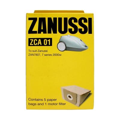 Zanussi Vacuum Bags 5pk ZCA01