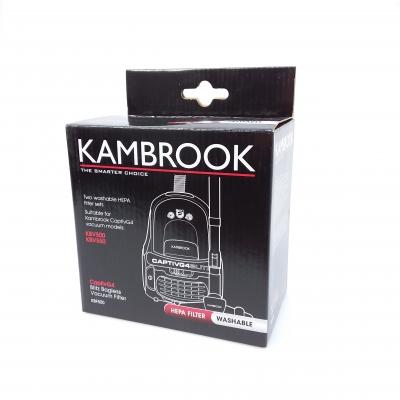 Kambrook Vacuum HEPA Filter 2 pack - KBF500