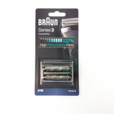 Braun Shaver Foil & Cutter Cassette 21B